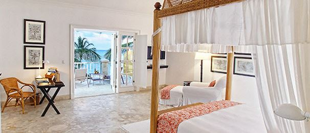 Accommodation at the Oscar de la Renta-designed  Tortuga Bay Hotel - Puntacana Resort and Club