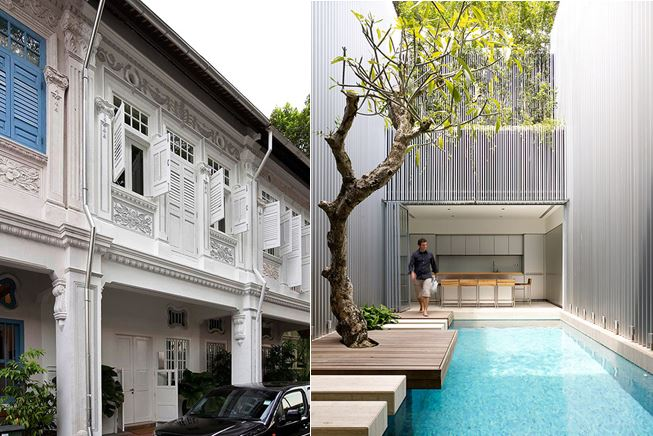 SINGAPORE ARCHITECTURE AND INTERIORS: 55 Blair Road in Singapore