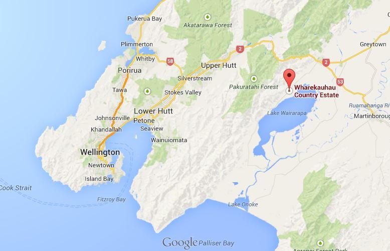 MAP: Wharekauhau Lodge