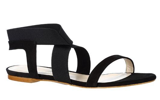 Resort style - Mellow Yellow - Sandals - Pierrot - Black