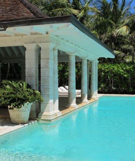 Oscar de la Renta's resort home in the Dominican Republic