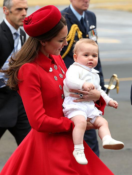 Photos of Prince George of Cambridge 2014