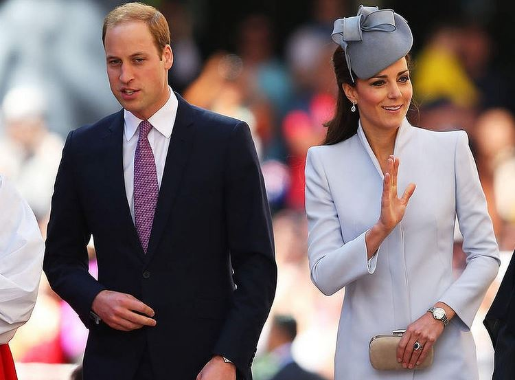 ROYAL TOUR: Prince William and Catherine in Alexander McQueen in Sydney on Easter Day 2014 - royal tour