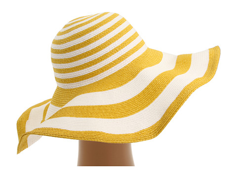 Resort style - San Diego Hat Company sun hat yellow
