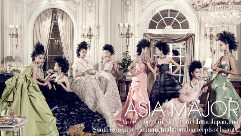 Steven Meisel and Grace Coddington  Vogue December 2010 Asia Major feature