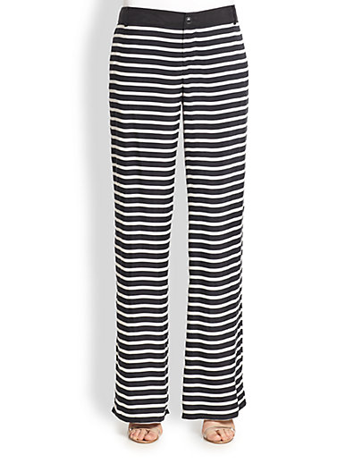Resort style - Weekend MaxMara Rosalba striped pants