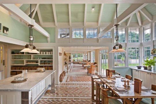 ROYAL TOUR PHOTOS: Wharekauhau estate in New Zealand dining area