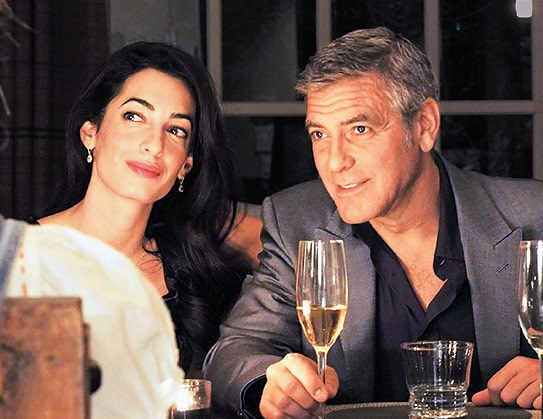 Amal Alamuddin engagament ring - George Clooney