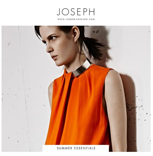 Luscious shopping online - Joseph - elegant clothes for women and men
