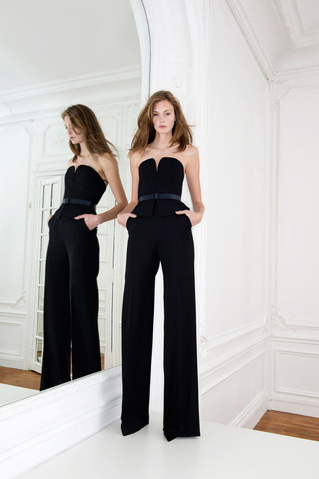 Luscious jumpsuit: Martin Grant Fall 2014 RTW Collection
