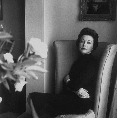 OLDER Vivien Leigh in 1958