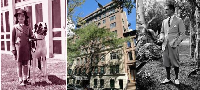 125 East 74th Street New York - John Bouvier apartment - father of Jackie Kennedy Onassis