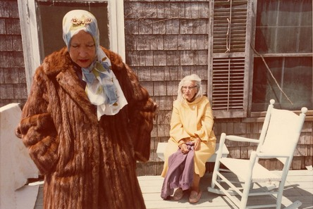 Big Edie and Little Edie Bouvier - aunt and cousin of Jackie Bouvier Kennedy Onassis