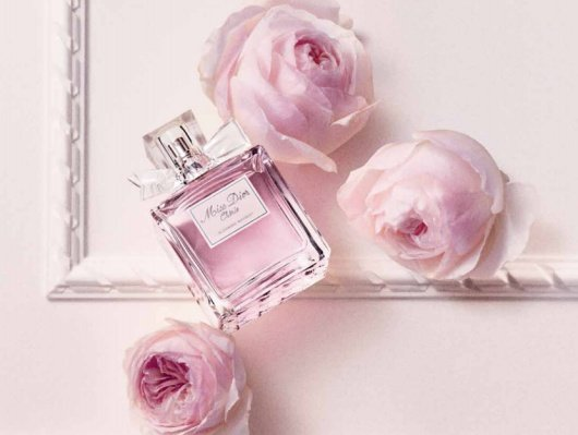 QUOTE: Christian Dior perfume and handwriting