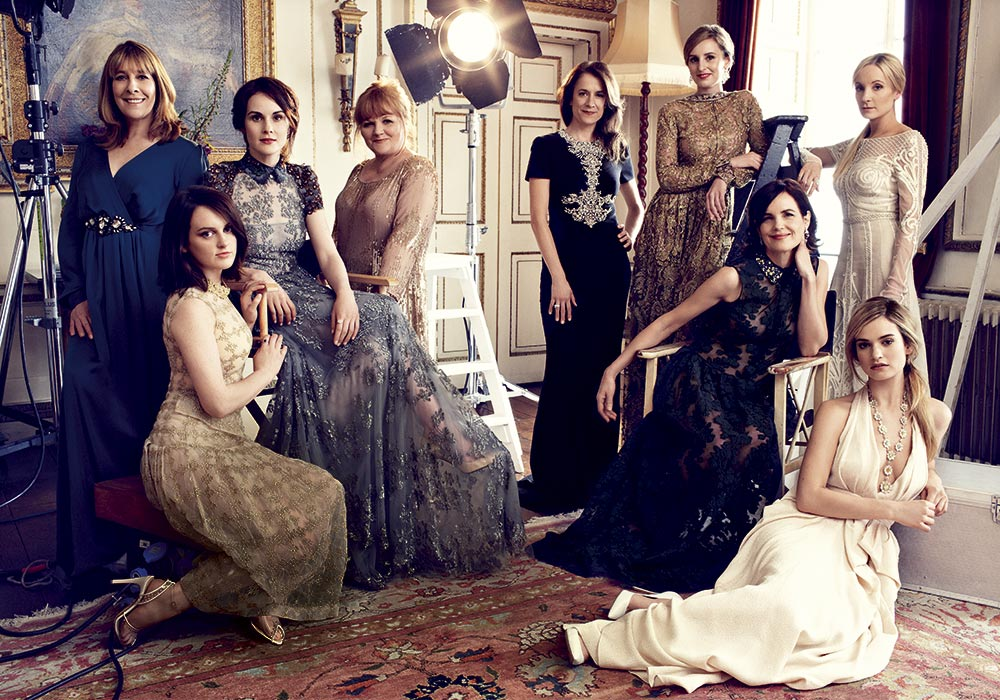 A GLAMOROUS LIFE: The ladies of Downton Abbey by Alexi Lubormirski ...