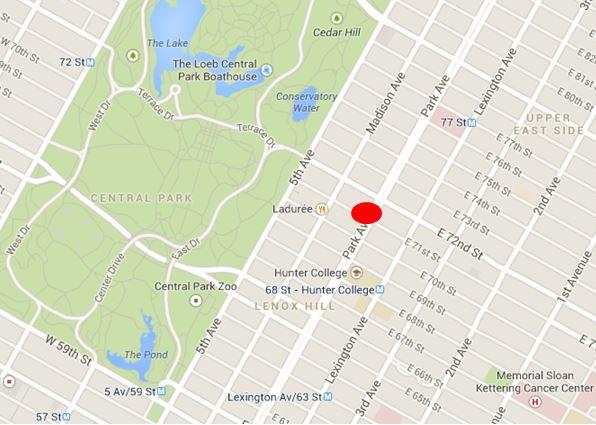 LOCATION 740 Park Avenue New York