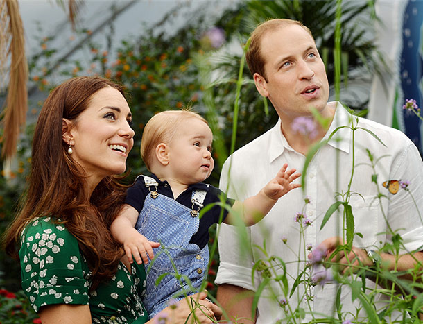 Prince George turns 1!