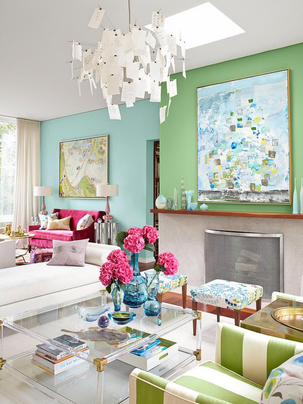 DESIGNERS AT HOME: At home with Sarah Richardson in her colorful ...