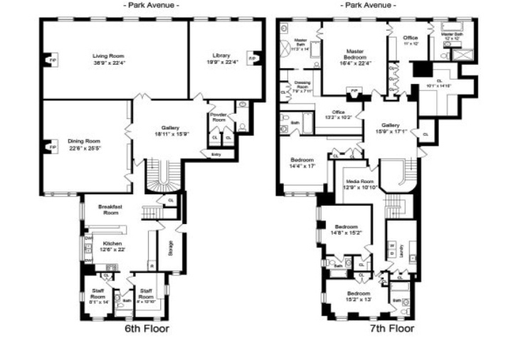 Famous Houses Floor Plans - Av Jennings Floor Plans