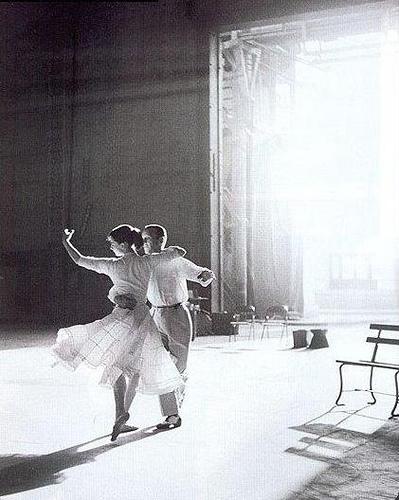 Audrey Hepburn and Fred Astaire - Funny Face by Richard Avedon