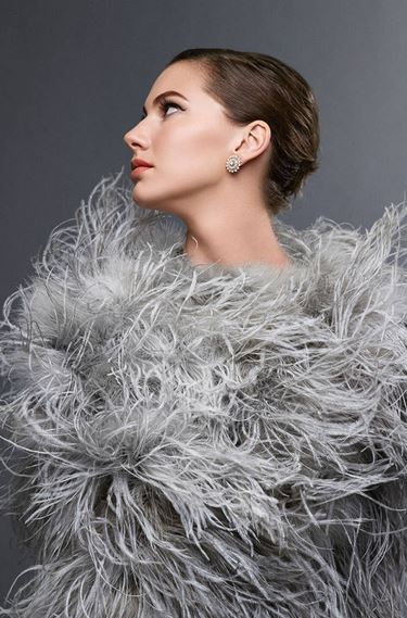 Audrey Hepburn's granddaughter Emma Ferrer, 20, has been photographed for the latest edition of Harper's Bazaar