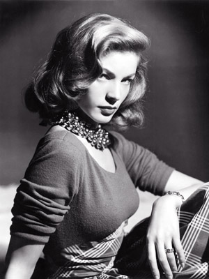LUSCIOUS ICON: Lauren Bacall
