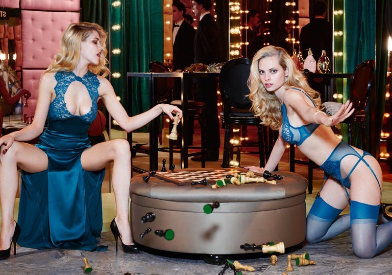LOOKBOOK: Agent Provocateur Autumn Winter 2014 campaign