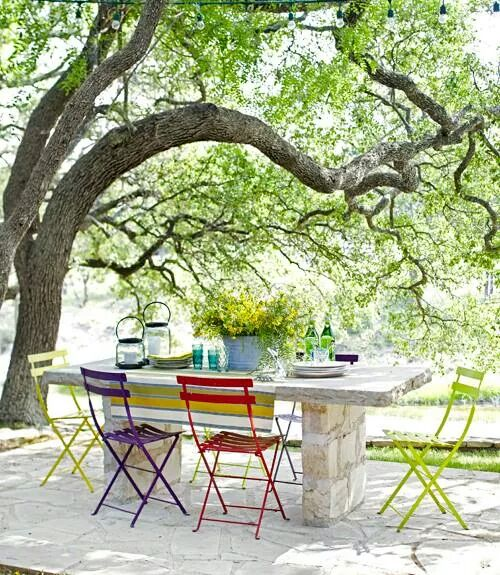 These Awesome Outdoor Lighting Ideas Will Brighten Up Your: A COLOURFUL LIFE: Brighten Up Your Day