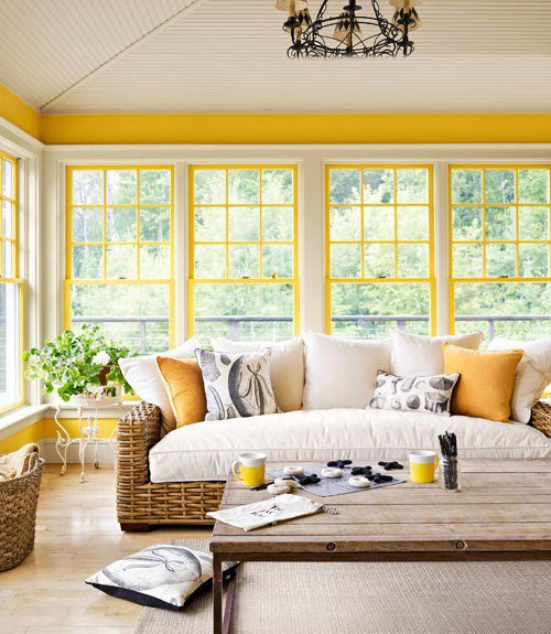 PHOTOS - Ideas for using yellow to brighten up your interior space