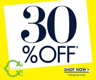 SALE ALERT - C Wonder Labor Day sale 2014 - 30-50% off