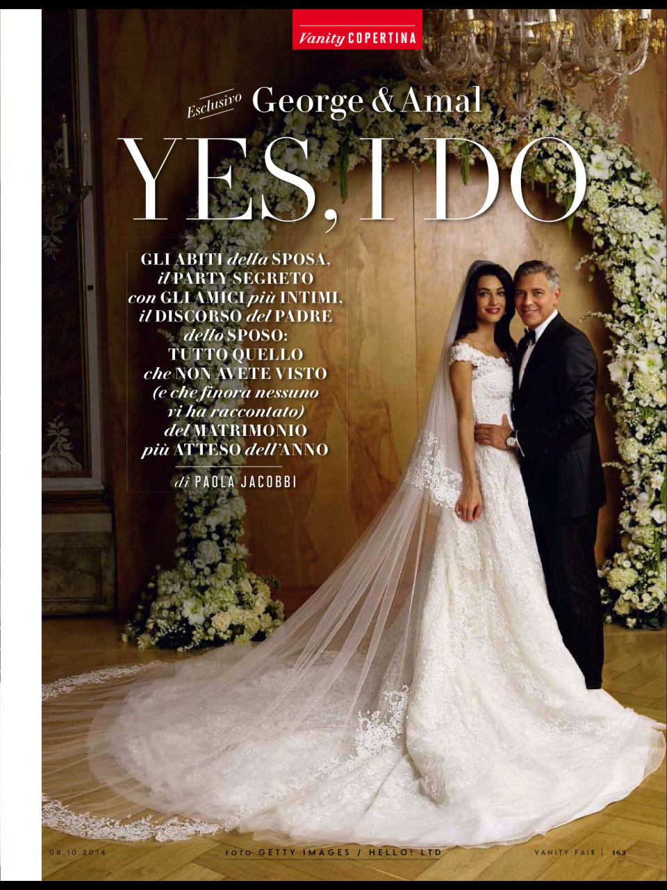OFFICIAL Wedding photos of Amal Alamuddin and George Clooney in Venice 2014