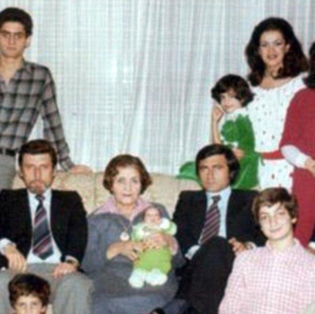 BEFORE GEORGE: Amal Alamuddin family photo - Young Amal