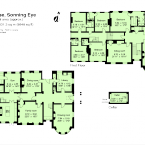 FLOOR PLAN George and Amal Clooney's new country house - Sonning England