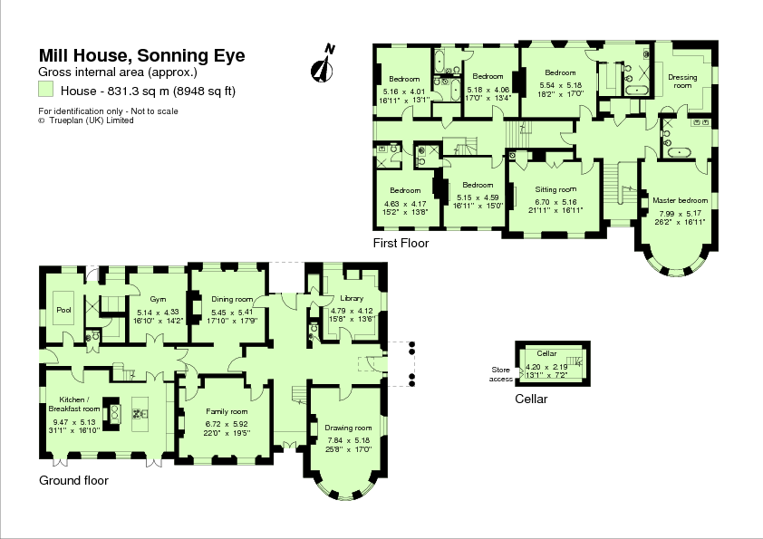 floor plan george and amal clooneys new country house sonning england
