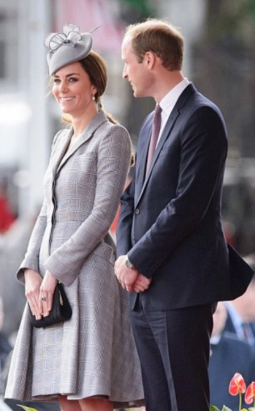KATE MATERNITY STYLE: Baby number 2