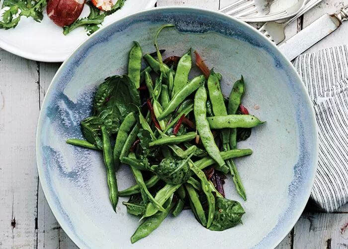 LUSCIOUS HEALTH Photos of healthy food - greens for dinner