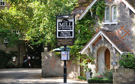 The Mill at Sonning - next door neighbour to George and Amal Clooney in Berkshire