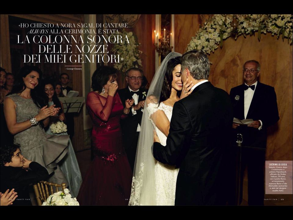 PHOTO GALLERY: Inside the wedding of Amal Alamuddin and George Clooney, Venice 2014