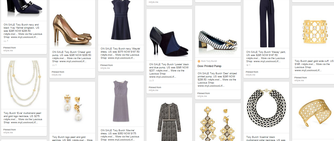 Ladylike looks from Tory Burch via www.mylusciouslife.com