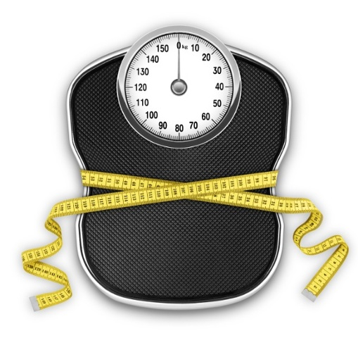 WEDNESDAY WEIGHT LOSS BLOG Scale and measuring tape via mylusciouslife.com