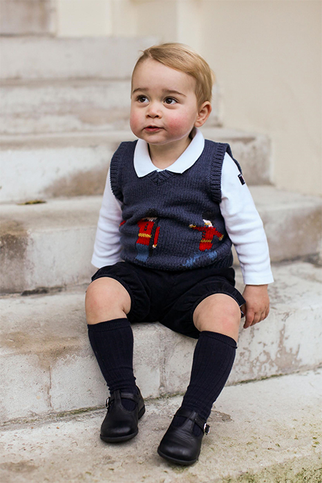 Photos of Prince George of Cambridge - December 2014
