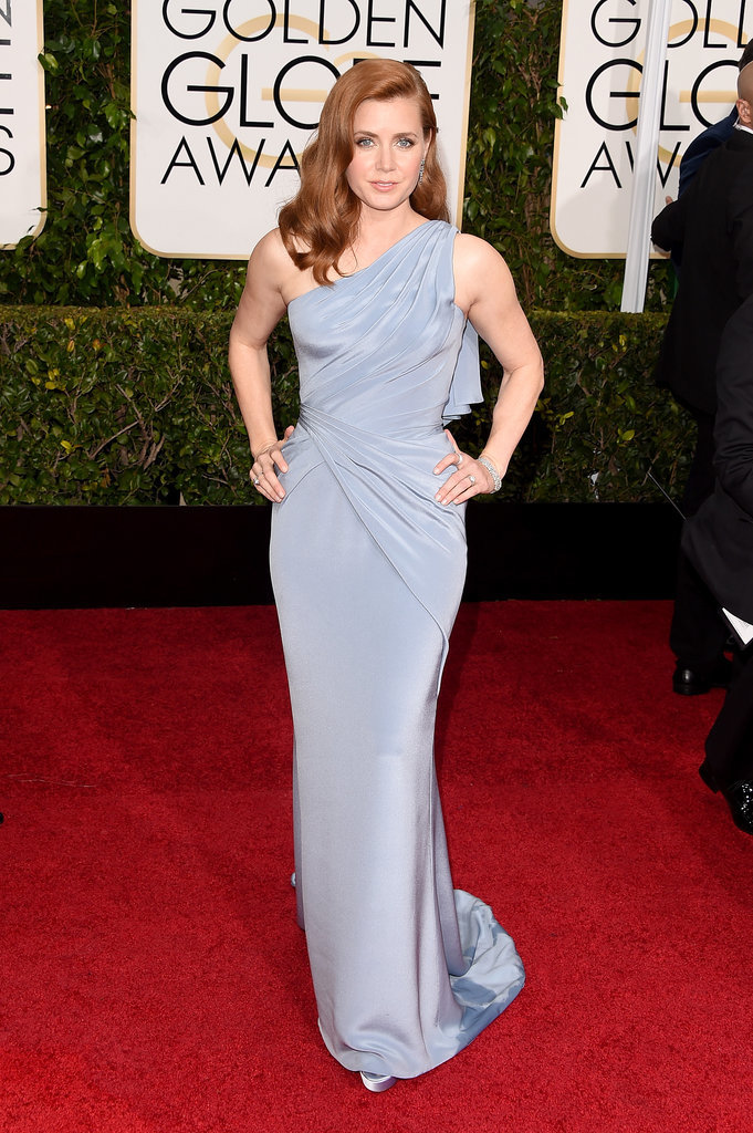 Golden Globes 2015 fashion - Amy Adams in Versace and Tiffany jewels