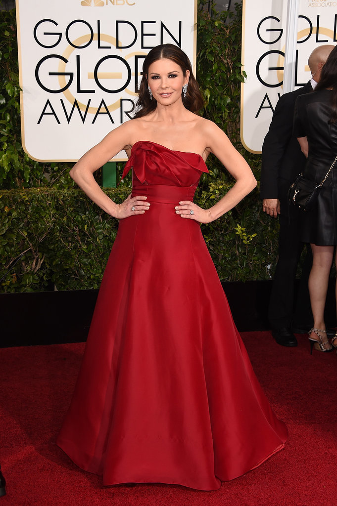 Golden Globes 2015 fashion - Catherine Zeta-Jones