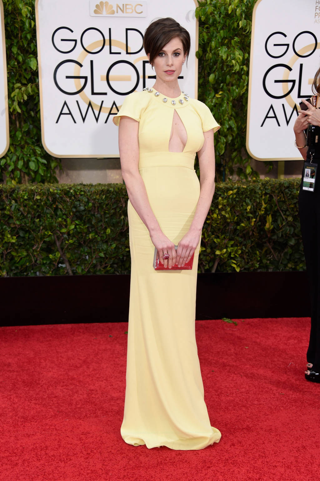 Golden Globes 2015 fashion - Elettra Rossellini-Wiedemann