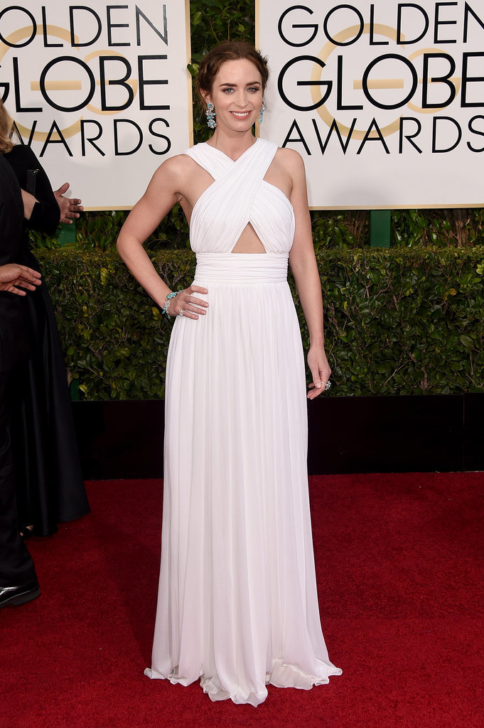 Golden Globes 2015 fashion - Emily Blunt in Michael Kors