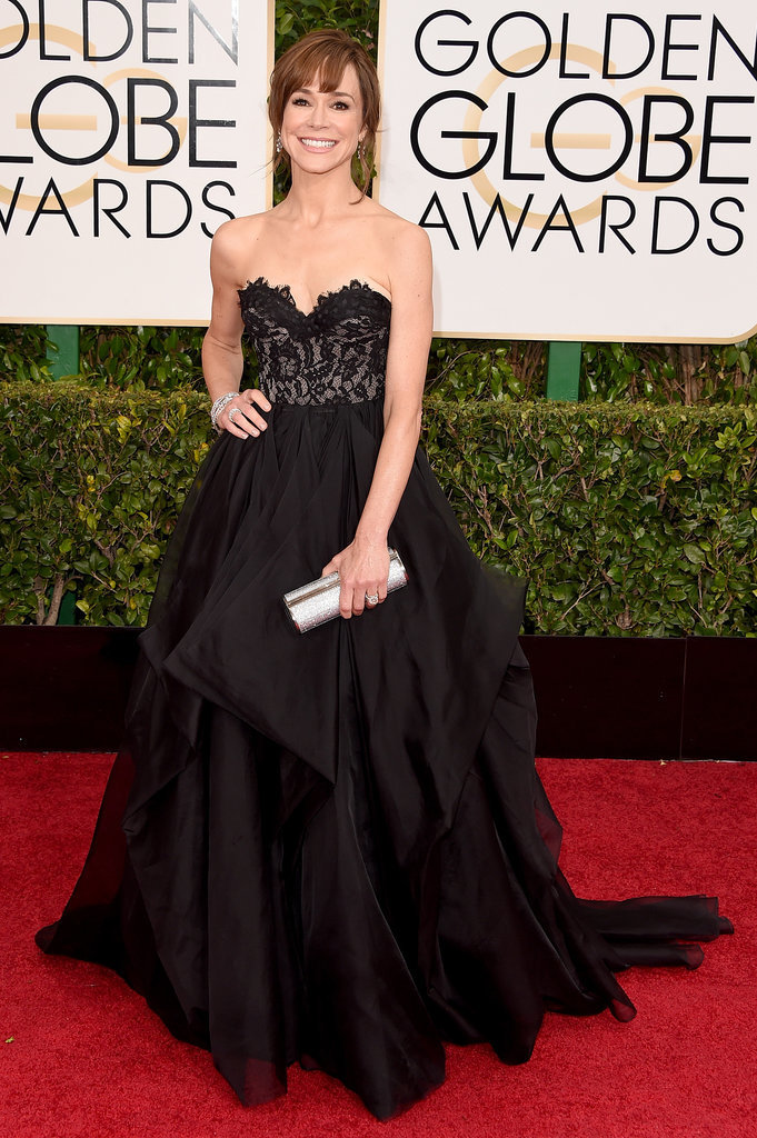 Golden Globes 2015 fashion - Frances O'Connor
