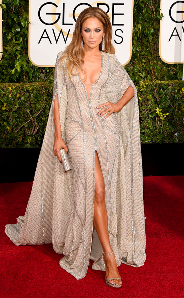 Golden Globes 2015 fashion - Jennifer Lopez in Zuhair Murad