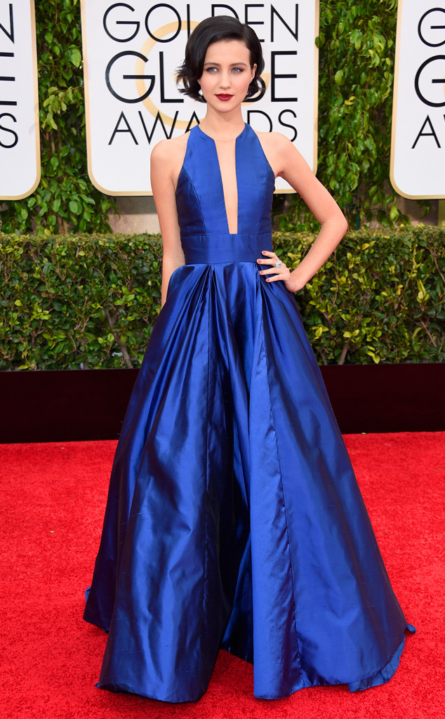 Golden Globes 2015 fashion - Julia Goldani Telles