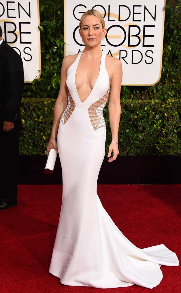 Golden Globes 2015 fashion - Kate Hudson wearing Versace