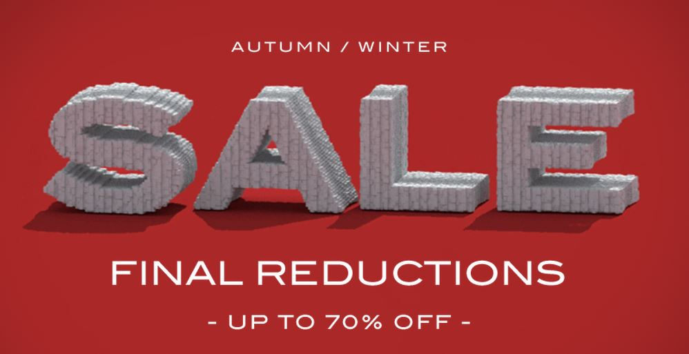SALE ALERT - Matches Fashion - Autumn/Winter 2015